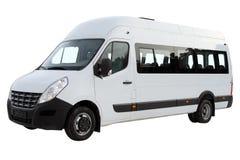 Kompakt minibuss Arkivfoton