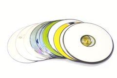 kompakta disks Royaltyfri Fotografi