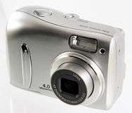 Kompakte Digitalkamera Stockfotografie