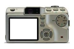 Kompakte Digitalkamera, leeren Bildschirmanzeige Stockfotos