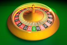 Kompakte elektronische Roulette -   Stockfotografie