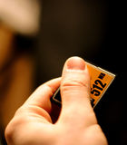Kompakte grelle Karte, Speicher für Digitalkamera Stockfotos