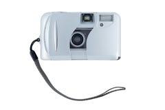 Kompakte Kamera getrennt auf Weiß. Lizenzfreie Stockfotografie