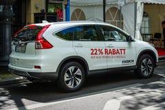 Kompakter Übergang SUV Honda CR-V, 2017 Stockbilder