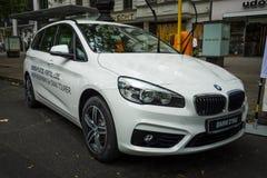 Kompakter aktiver Tourer MPV BMW 216d (seit 2014) Stockfotografie