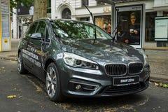 Kompakter aktiver Tourer MPV BMW 220d (seit 2014) Stockfotos