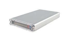 Kompakter External HDD Stockfoto