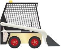 Kompakter Traktor-Vektor Lizenzfreies Stockbild