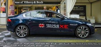 Kompaktes Exekutivauto Jaguar XE 20D (seit 2015) Lizenzfreie Stockfotos