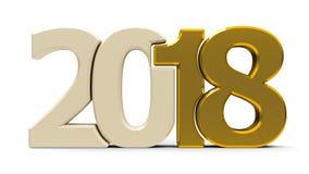kompaktes Gold 2018 der Ikone Lizenzfreies Stockfoto
