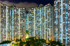 Kompaktes Leben in Hong Kong Lizenzfreies Stockfoto