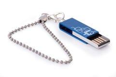 Kompaktes USB-Blinkenlaufwerk stockbild