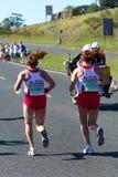 Kompanu Maraton 2010 - Dama wierzchołek dwa Fotografia Stock