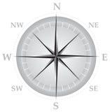 Kompas 01 royalty-vrije illustratie