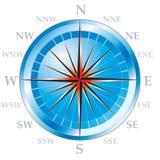 Kompas 02 Royalty-vrije Stock Afbeeldingen