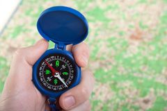 kompas fotografia royalty free