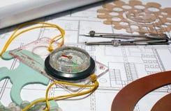 Kompas 2 Royalty-vrije Stock Fotografie