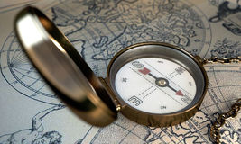 kompas. Fotografia Stock