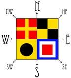 Kompas Zdjęcia Royalty Free