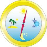Kompas Zdjęcia Stock