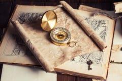 Kompas Obrazy Royalty Free