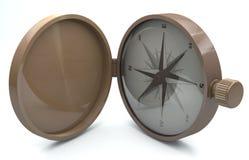 Kompas - Akcyjny wizerunek - Akcyjny wizerunek ilustracja wektor