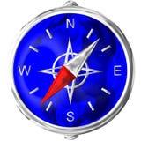 kompas chromu Fotografia Stock