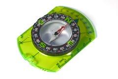 Kompas dat met het knippen van weg wordt geïsoleerd Royalty-vrije Stock Foto's
