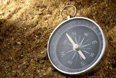 Kompas en schaduw Stock Fotografie