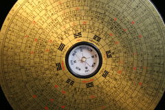 kompas feng shui Obraz Royalty Free