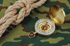 Kompas i arkana obrazy royalty free