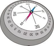 kompas ilustracyjny starego stylu wektora Fotografia Royalty Free