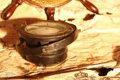 kompas koła Zdjęcie Royalty Free