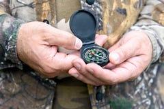 kompas magnetyczny obraz stock