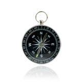Kompas na biały tle obrazy stock