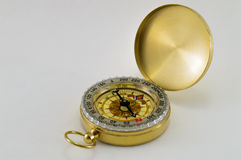Kompas na biel Zdjęcie Stock