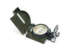 Kompas na biel Obraz Stock