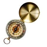 kompas odizolowywał Fotografia Stock