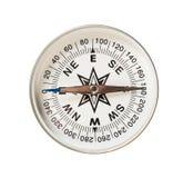 kompas odizolowywający fotografia stock