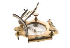 Kompas odizolowywający na bielu Zdjęcie Stock