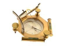 Kompas odizolowywający na bielu Obraz Royalty Free