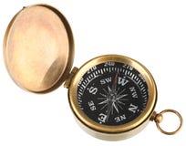 kompas odizolowywający Zdjęcie Royalty Free