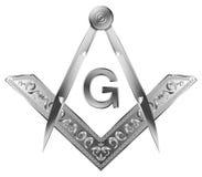 Vierkant & Kompas royalty-vrije illustratie
