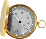 Kompas otwarty Obraz Royalty Free