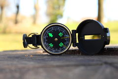 kompas relaksował zdjęcia stock