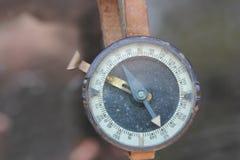 Kompas, Stary wojskowy zdjęcie stock