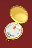 kompas sukces Obrazy Royalty Free