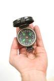 Kompas ter beschikking Stock Afbeelding