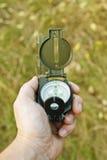 Kompas ter beschikking Royalty-vrije Stock Fotografie