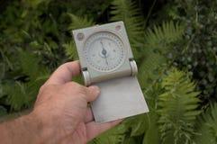 Kompas ter beschikking Stock Afbeeldingen